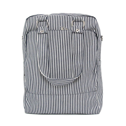 Striped backpack | Daily navy white stripes