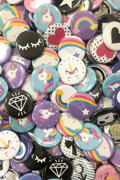 Button icons | Designed buttons | Button puns