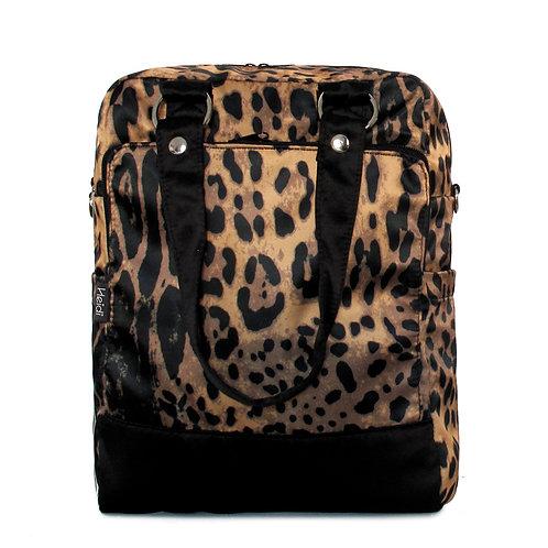Daily + clutch bag | Leopard