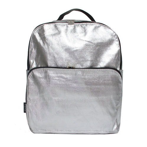 Silver Backpack | Max Silver