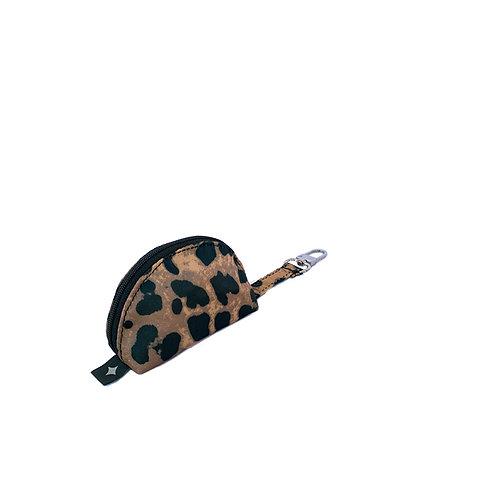 Pacifier pocket | Leopard Brown