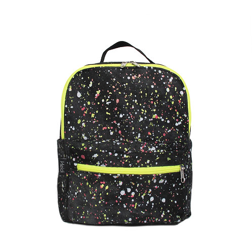 Kids backpack | Mini Max black splash