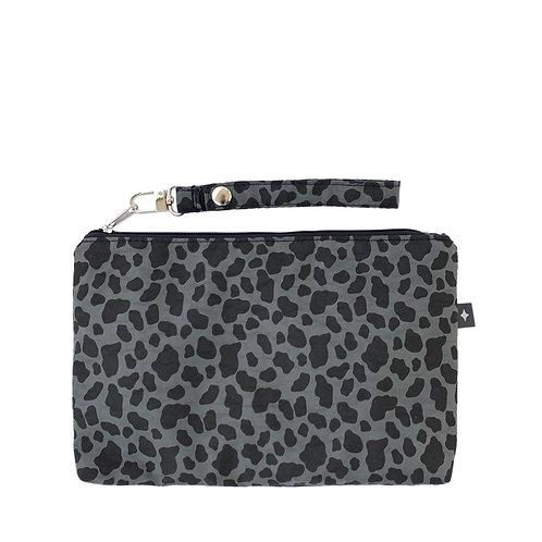 Diaper Clutch | Leopard Olive Green