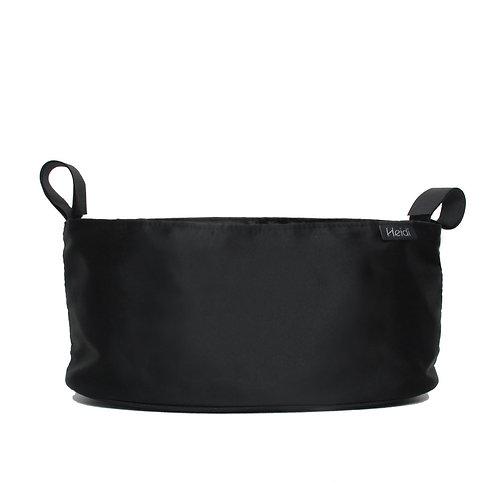 Heidi stroller organizer | Black | Cup bag holder