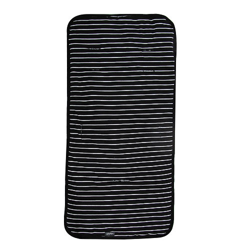 Stroller liner | Black stripes