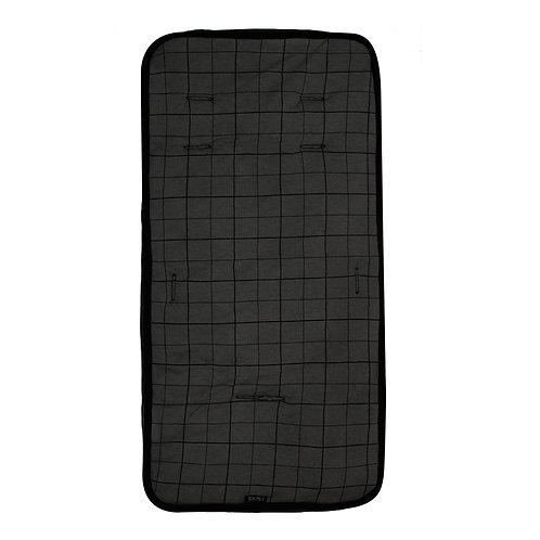 Stroller liner | Grid dark Grey