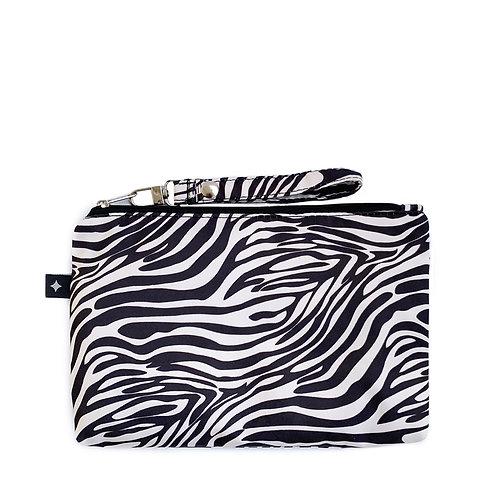 Diaper Clutch | Zebra