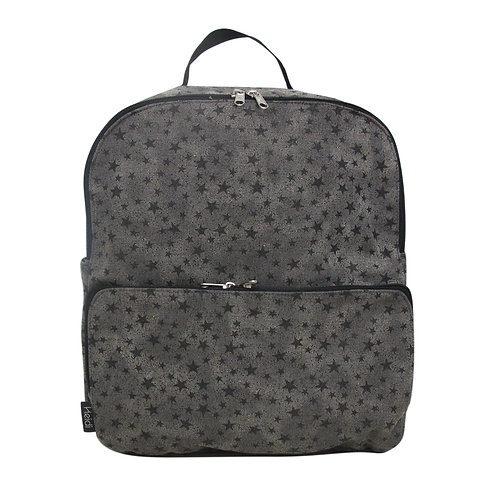 Diaper bag backpack | Max Grey with stars