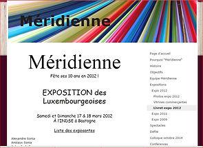 Invitée par les Méridiennes - expo  Bastogne
