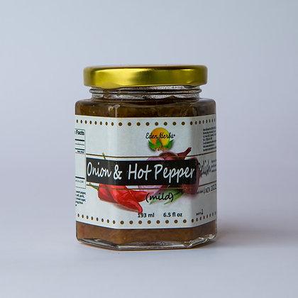 Onion & Hot Pepper Relish