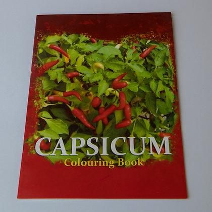 Capsicum Colouring Book