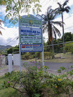 Eden Herbs Location Signboard