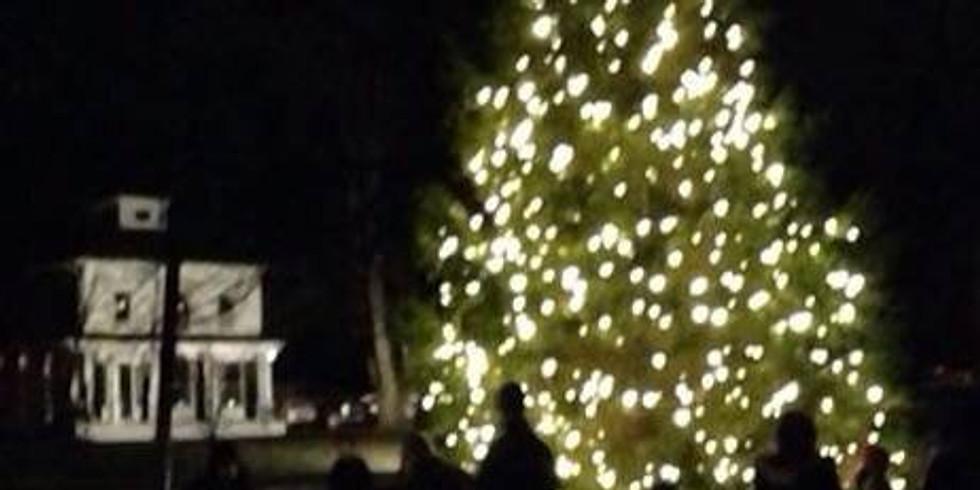 NIA Annual Tree Lighting + Santa Visit