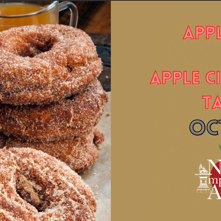 CIDERDAY - Apple Cider & Apple Cider Donut Tasting