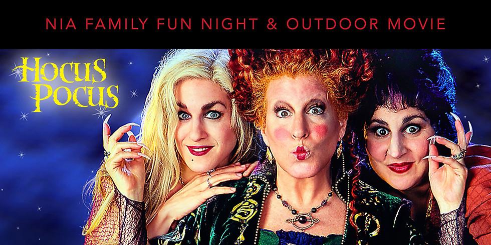 NIA Family Fun Night + Outdoor Movie - MEMBERS ONLY!
