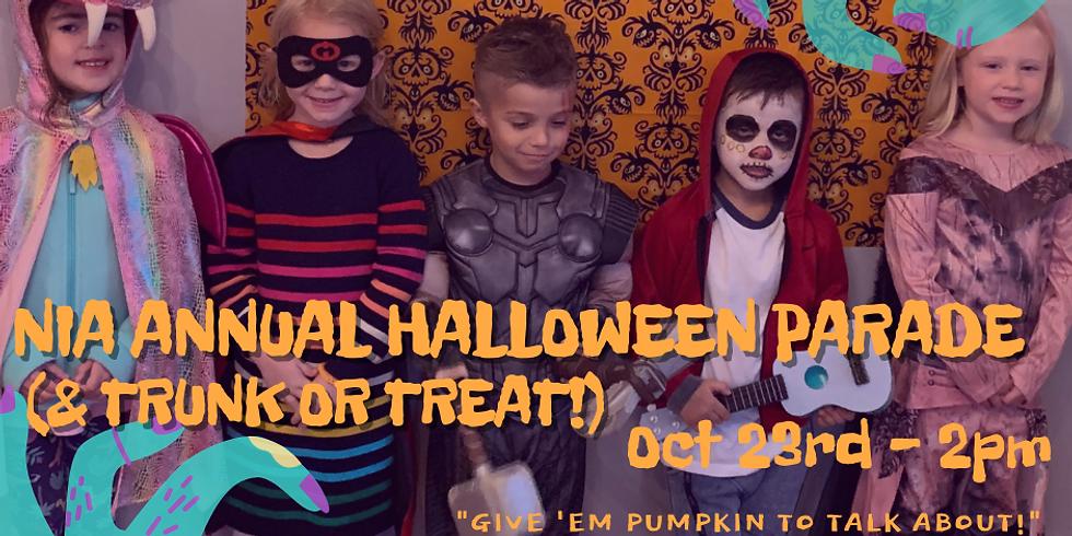 NIA Halloween Parade & Trunk or Treat