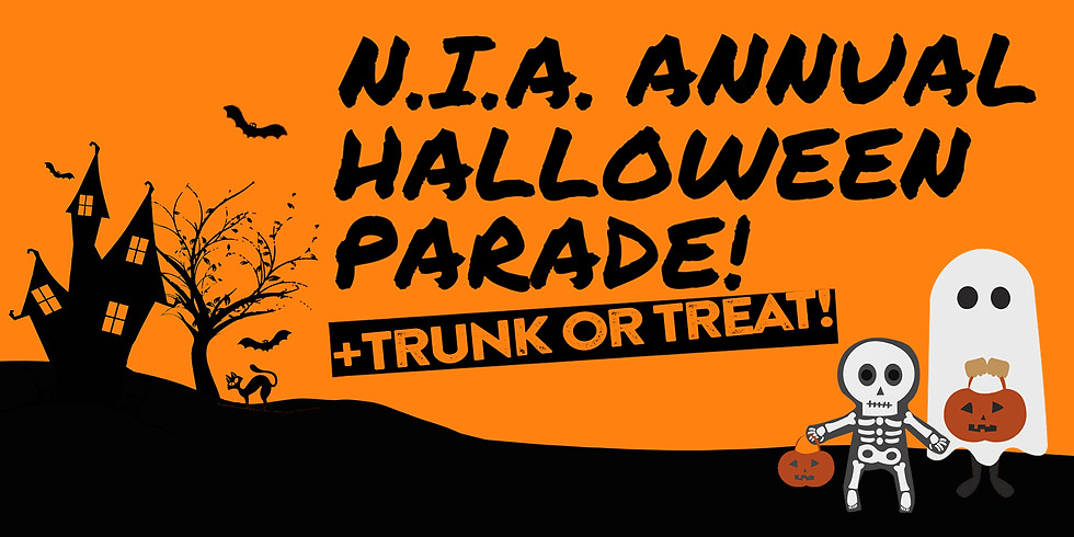 SOLD OUT - NIA Halloween Parade & Trunk or Treat - MEMBERS ONLY!