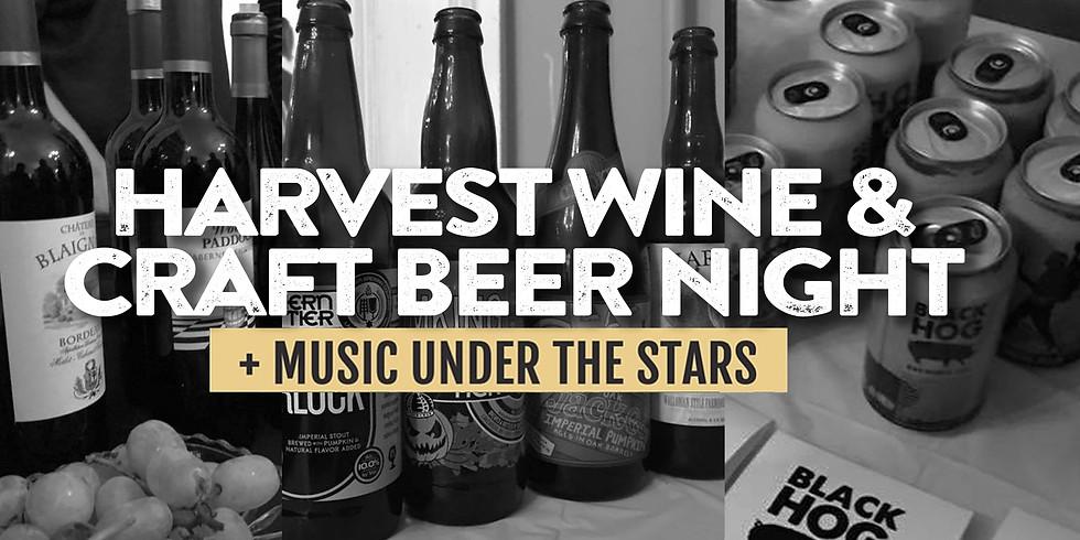 NIA Harvest Wine & Craft Beer Night + Music Under the Stars