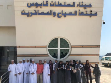 Our students visit to the Royal Navy of Oman 2