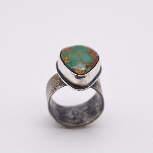Royston Turquoise Adjustable Ring