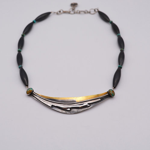 Feather Motif Necklace