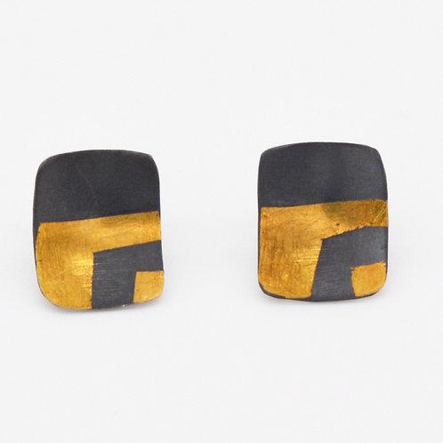 Desert Shards Stud Earrings