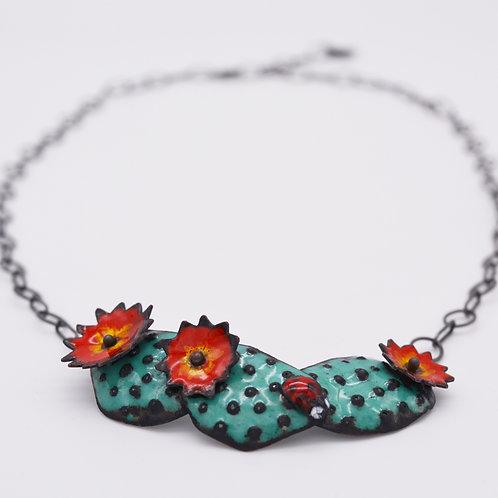 Cactus Prickly Pear Necklace