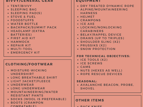 Mountaineering Essentials