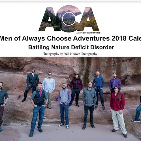 The Men of ACA 2018 Calendar
