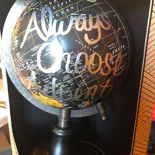 Always Choose Adventures Globe