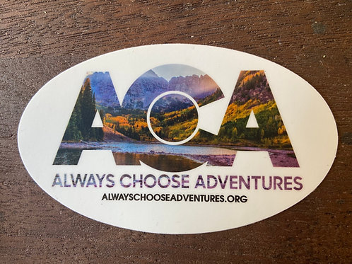 ACA Sticker - Maroon Bells