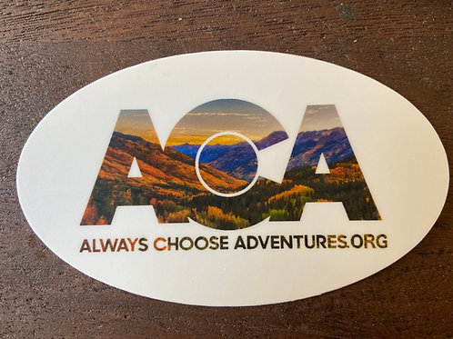 ACA Sticker - Fall Scene