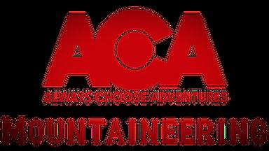 ACA Mountaineering Logo Transparent Vign