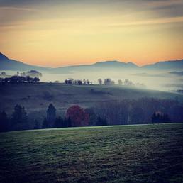 Vue sur la vallée de Tavannes