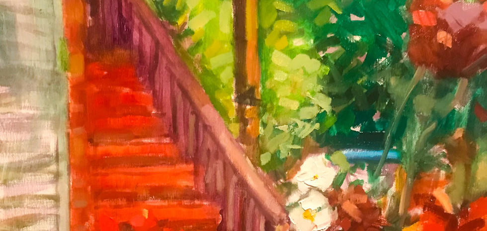 Micanopy Staircase, 2019