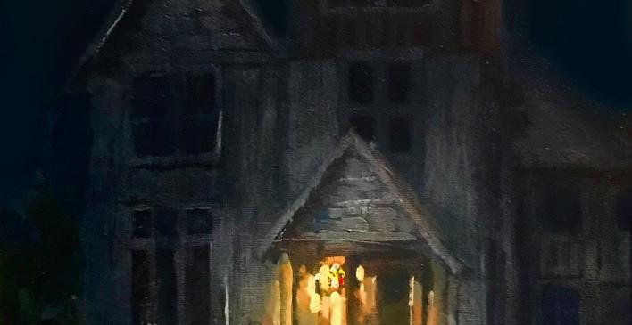 Palatka Parsonage, Night, 2019