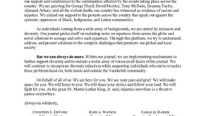 A Letter from Our Executive Board and Staff