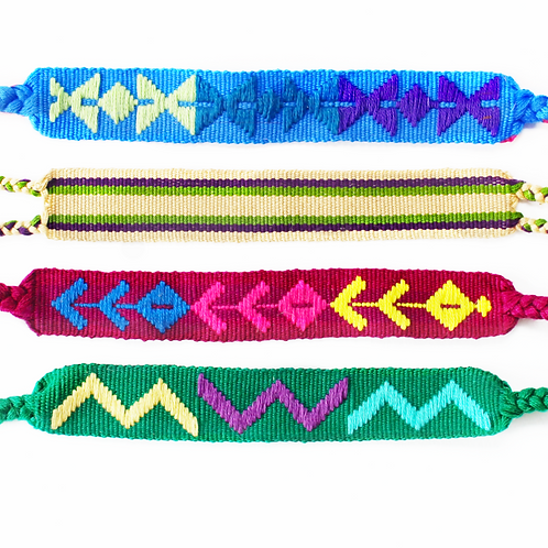 MayaMam Pulseras (Color Options)