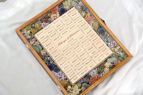 お花の結婚証明書