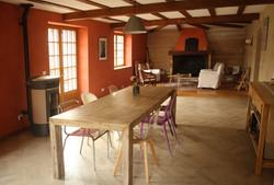 salle petit déj et salon