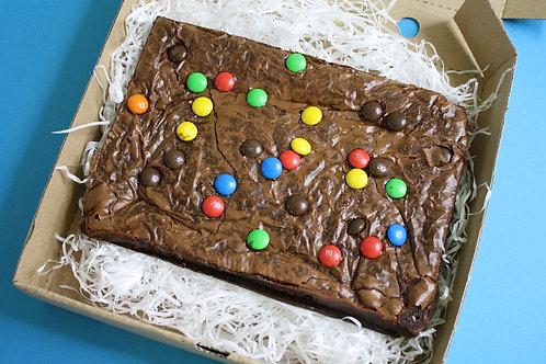 M&M Crunch Brownie