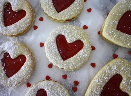 Valentines Heart Biscuits