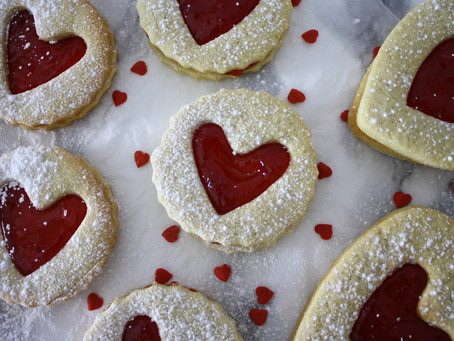 Valentines Heart Biscuits