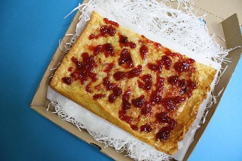 Strawberry Jammy Blondie
