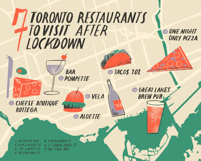 Toronto Food Map