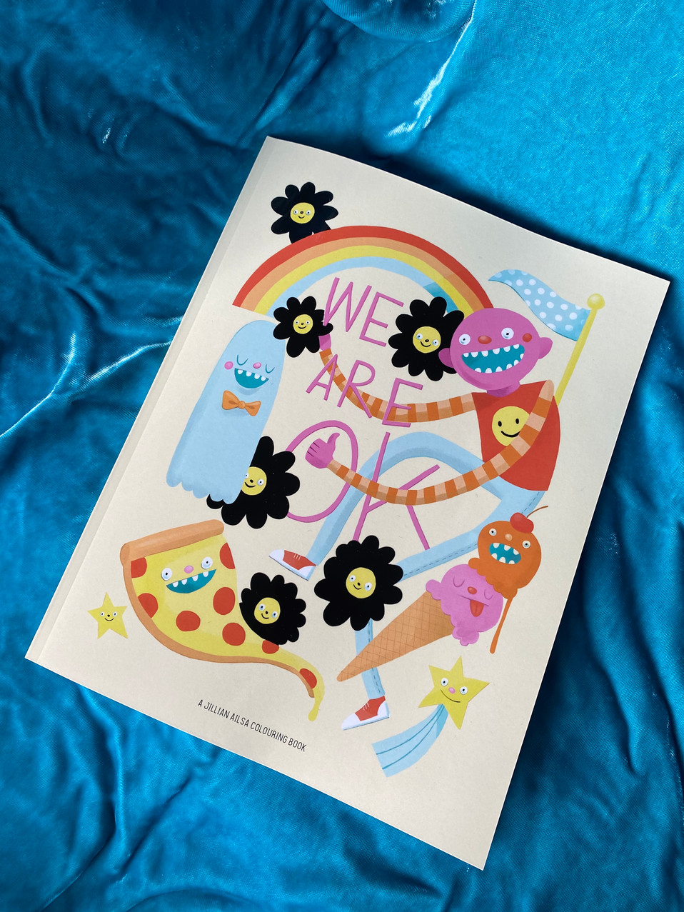 We Are Ok Colouring Book