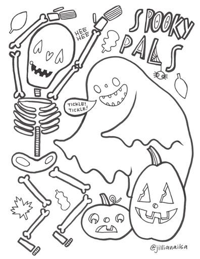 Spooky Pals