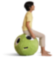 Plush Stabilty Ball for kids