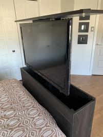 Meuble TV escamotable