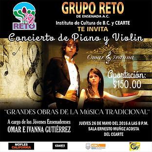 Concierto en CEART Ens Grupo Reto Omar e Ivanna